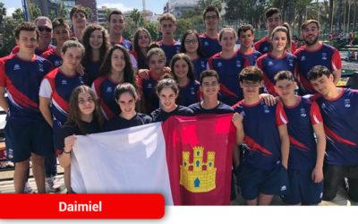 Octavo puesto de la Selección de Natación de Castilla-la Mancha en el Campeonato de España