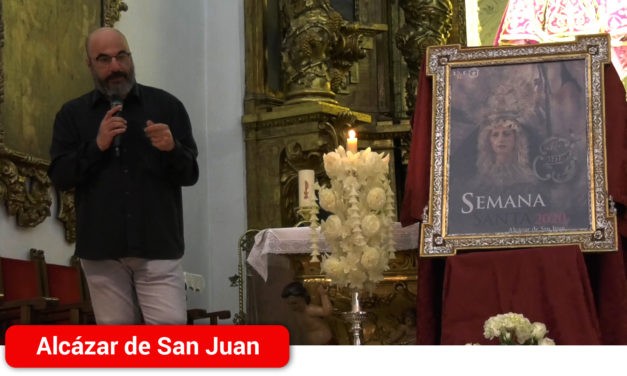 La Virgen de La Soledad, protagonista del cartel oficial de la Semana Santa 2020 de Alcázar de San Juan