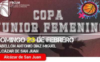 El próximo 23 de febrero llega la Copa Junior Femenina de Baloncesto a Alcázar de San Juan