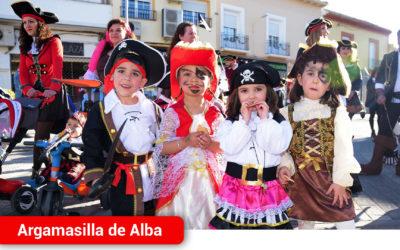 Cientos de niños participaron en el Desfile de Comparsas Infantiles de Argamasilla de Alba