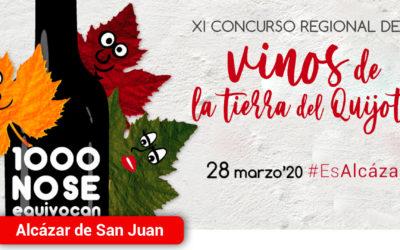 El 28 de marzo se celebrará la XI Concurso Regional de Vinos Tierra del Quijote en Alcázar de San Juan