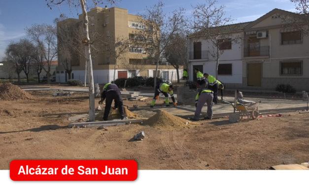 Dan comienzo las obras de reforma del tramo final de la avenida de la Constitución de Alcázar de San Juan