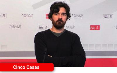 El PSOE de Cinco Casas reclama más transparencia en la creación del puesto de Secretario Interventor y acabar con el veto a la oposición