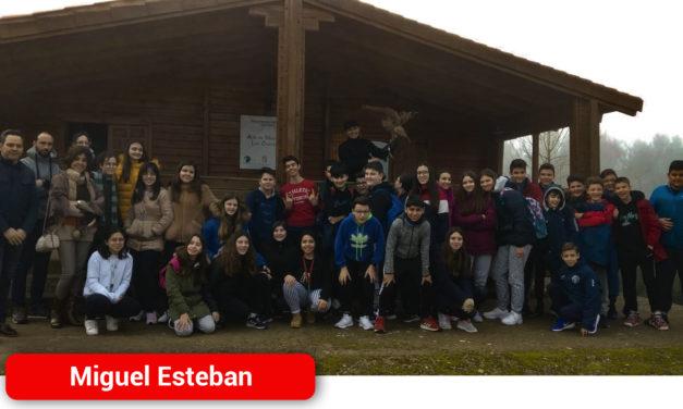 Unos 100 alumnos de Secundaria de Miguel Esteban se conciencian sobre la importancia de conservar los humedales