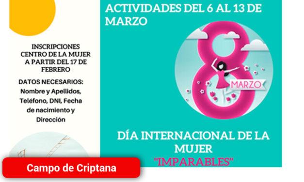 Día Internacional de la Mujer en Campo de Criptana