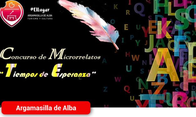 El Ayuntamiento de Argamasilla de Alba convoca el concurso de microrrelatos 'Tiempos de Esperanza'