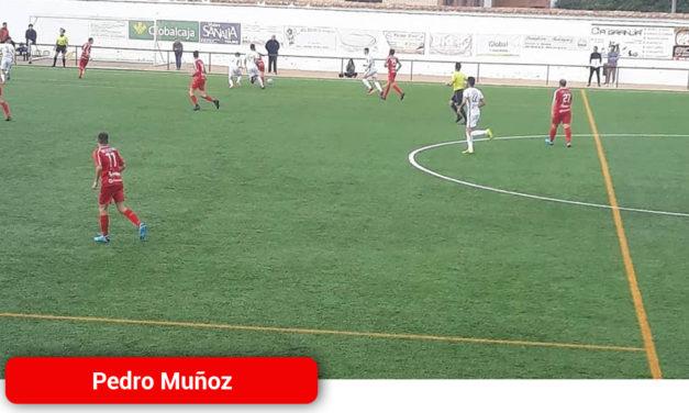 Victoria por la mínima del Pedro Muñoz en Malagon