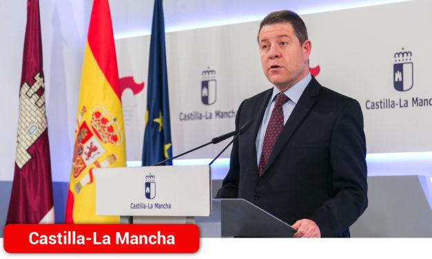 Emiliano García-Page alaba la coordinación entre comunidades y pide estudiar una estrategia que facilite la recuperación económica y social