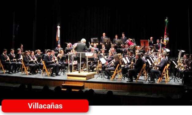 Las Bandas de Música de Villacañas y La Villa de Don Fadrique celebran el 'Concierto a dos Bandas'