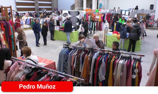 El comercio local de Pedro Muñoz, protagonista en la Feria del Stock que se celebra en el Nuevo Espacio Cultural del Paseo de la Mota