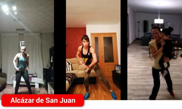 Alba Reguillo, anima a  combatir la rutina del confinamiento en casa haciendo ejercicio con clases online desde facebook