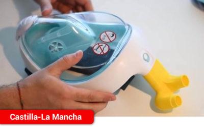 El SESCAM no prohíbe a los profesionales sanitarios el uso de máscaras de buceo adaptadas en pacientes con dificultades respiratorias