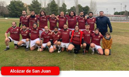 Los Gigantes de la Mancha se llevan la victoria en su primer partido de liga Derrotan a la Club de Rugby Andújar por 14 a 5