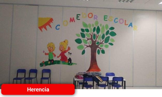 El Ayuntamiento de Herencia colabora con la Consejería de Educación para prestar el servicio de comedor escolar durante el estado de alarma