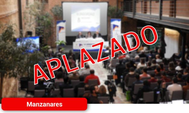 Manzanares aplaza las Jornadas Empresariales