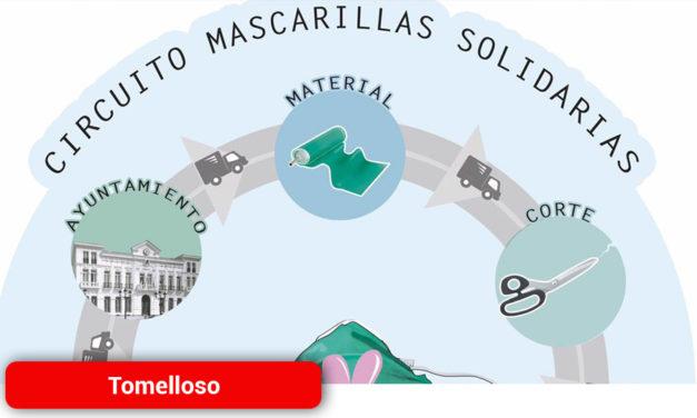 """En marcha el proyecto """"Mascarillas solidarias"""" de Tomelloso"""