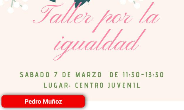 Juegos por La Igualdad en el Centro Juvenil de Pedro Muñoz con motivo de La Semana de La Mujer