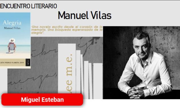 El escritor Manuel Vilas participará en el próximo encuentro literario en Miguel Esteban