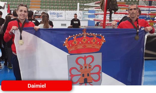 El Muay Thai daimieleño brilla a nivel nacional
