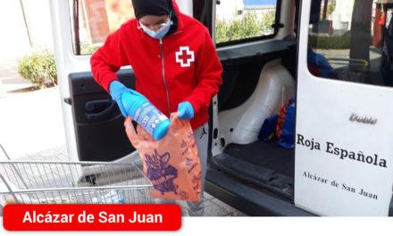 Cruz Roja trabaja en estrecha coordinación con los Servicios Sociales del  Ayuntamiento de Alcázar de San Juan y de la Comarca