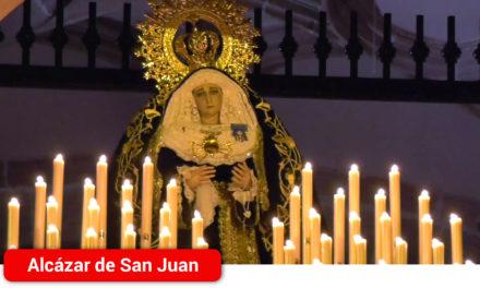 Nuestra Señora de los Dolores abría así la Semana de Pasión hace ahora dos años, hoy  recordamos como fue