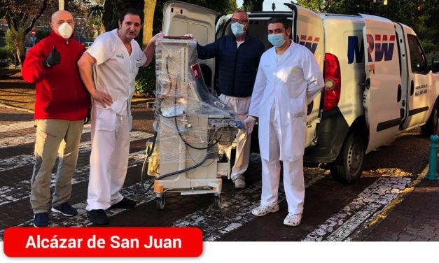 El Gobierno de Castilla-La Mancha distribuye 17 equipos de respiradores y de ventilación mecánica en centros hospitalarios de la región