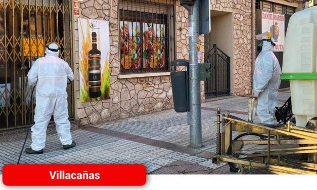 Nuevas tareas de desinfección en la localidad de Villacañas