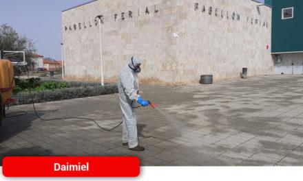 El Ayuntamiento de Daimiel ofrece a la Consejería de Sanidad el Pabellón Ferial para atención de pacientes afectados por Covid-19