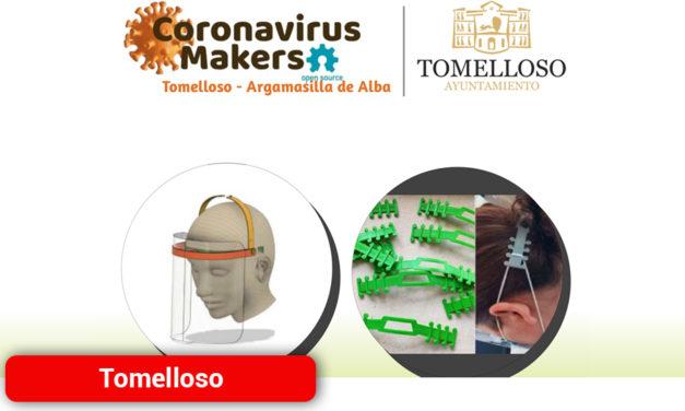 """Los empresarios de Tomelloso y Argamasilla de Alba ya pueden solicitar las pantallas de protección realizadas por el grupo """"Coronavirus Makers"""""""