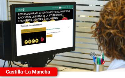 Castilla-La Mancha habilita una espacio online para profesionales con materiales y recursos para el afrontamiento y gestión emocional del malestar ante la pandemia COVID-19