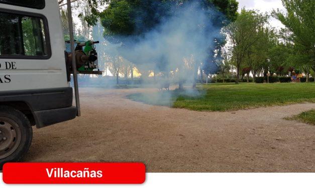 Campaña de fumigación contra los mosquitos