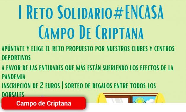 I Reto Solidario Campo de Criptana #encasa
