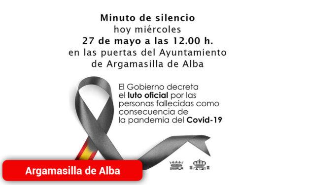 Minuto de silencio por las personas fallecidas como consecuencia del COVID-19