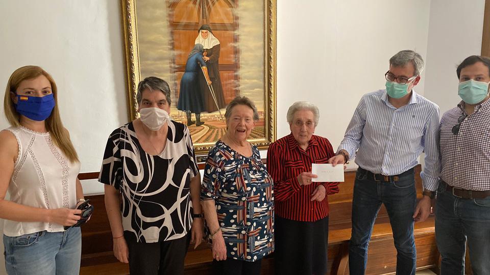 PP aportaciones recaudadas Alcázar Sor Angela de la Cruz