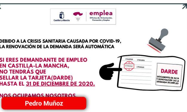 Si eres demandante de empleo en Castilla-La Mancha
