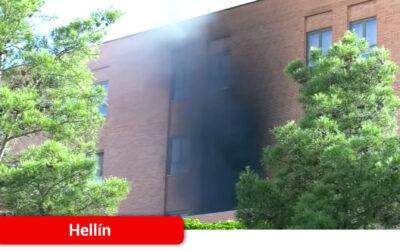 Controlado el incendio en el Hospital de Hellín que ha provocado la evacuación de todo el centro sanitario