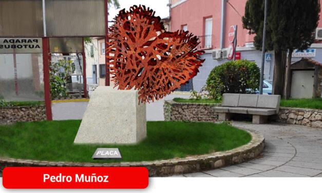 Así será el monumento que rendirá homenaje a los fallecidos durante la epidemia y a sus familiares en la Plaza del Mayo Manchego
