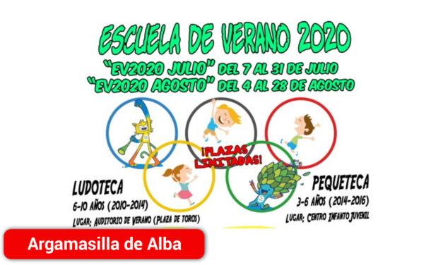 Abierto el plazo de inscripción online para el servicio de Ludoteca y Pequeteca de la Escuela de Verano 2020