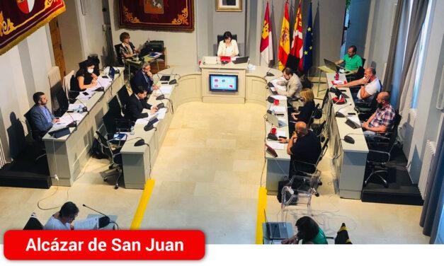"""El pleno ratifica que """"existe voluntad política, soporte jurídico y viabilidad económica"""" para remunicipalizar Aguas de Alcázar"""