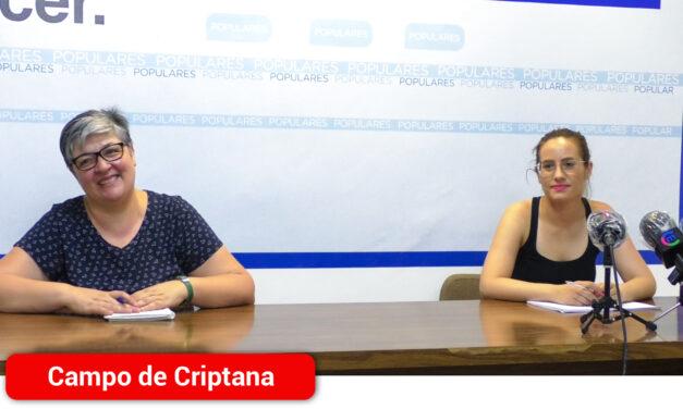"""El Partido Popular acusa de """"anular y sustituir"""" las ayudas ya existentes por las nuevas subvenciones aprobadas por la COVID-19"""
