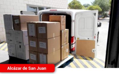 El Gobierno Regional reparte hoy 10.800 test rápidos y más de 156.000 artículos de protección en la provincia de Ciudad Real