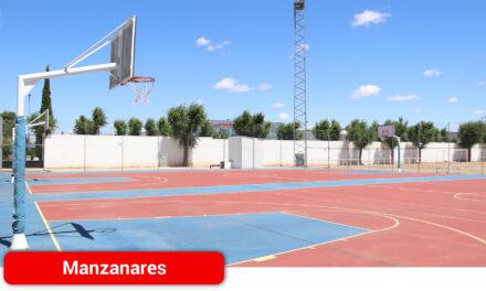 Reabren las pistas de baloncesto del polideportivo