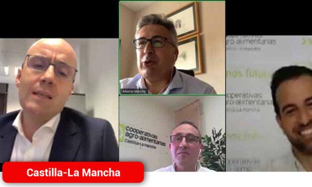 Cooperativas Agro-alimentarias Castilla-La Mancha y Globalcaja analizan el entorno geopolítico y económico tras el COVID-19
