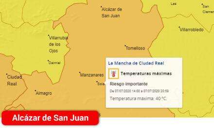 Aviso Naranja por Altas Temperaturas en La Mancha