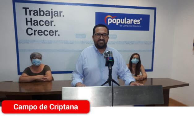 Antonio Lucas-Torres responde a la «falta de autocrítica» por parte del teniente alcalde y secretario general del PSOE de Campo de Criptana, Mariano Ucendo