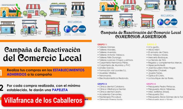 """Arranca la campaña """"Nos movemos Villafranca"""" para apoyar el comercio local"""