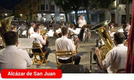 La Asociación Banda de Música inaugura los Escenarios para el Reencuentro con un variado programa de pasodobles