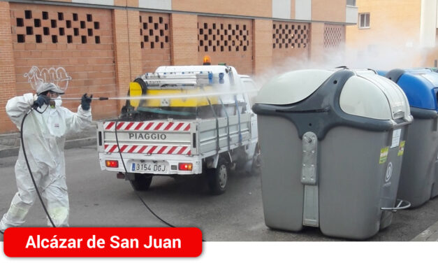El Ayuntamiento ha puesto en marcha un Plan de limpieza viaria y desinfección sin precedentes