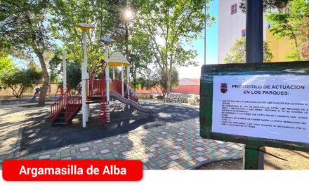 Reapertura de las zonas de juego infantil en los parques