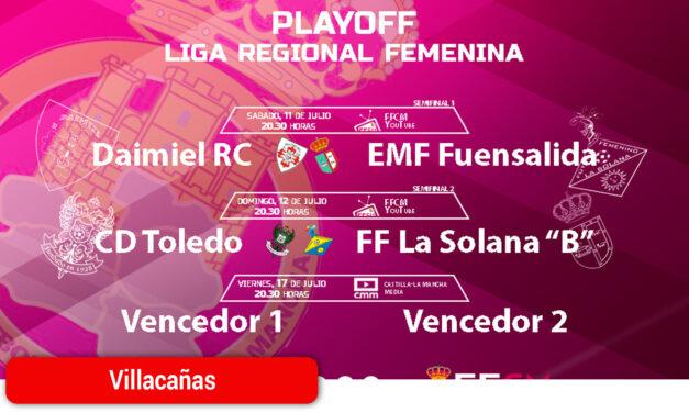 Ya hay horarios para los playoff de la Liga Regional Femenina que tendrán como sede Villacañas